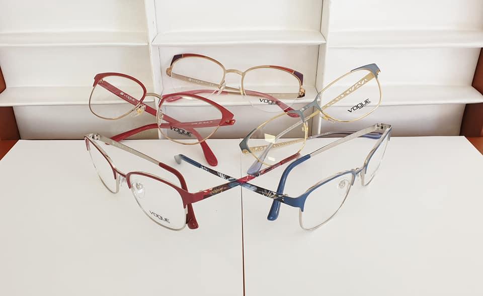 lunettes vogue métal